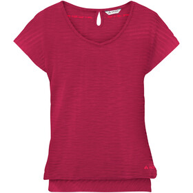 VAUDE Skomer T-Shirt II Women, crimson red